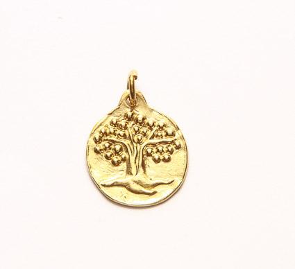 médaille de bapteme arbre de vie